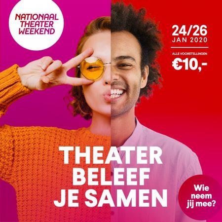 Lustrumeditie Nationaal Theaterweekend opnieuw groot succes
